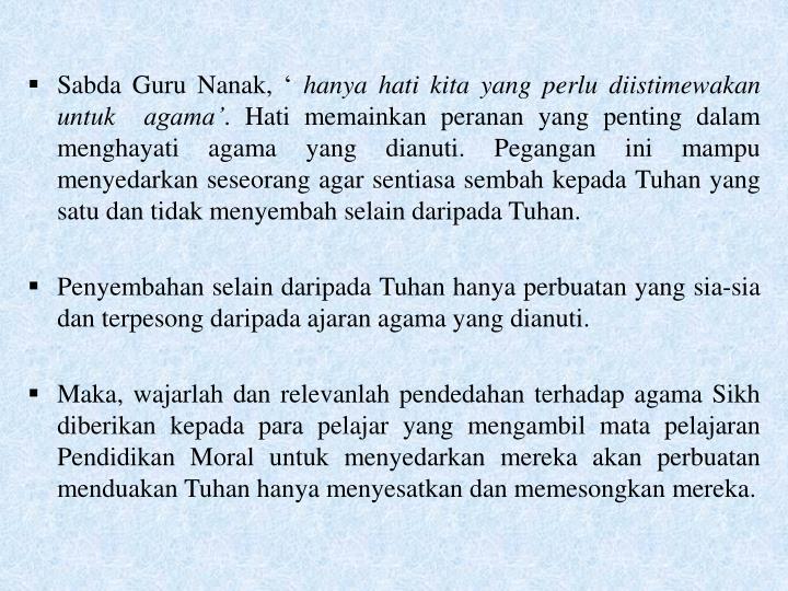 Sabda Guru Nanak, '