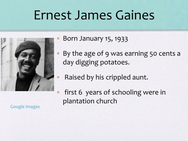 Ernest James Gaines