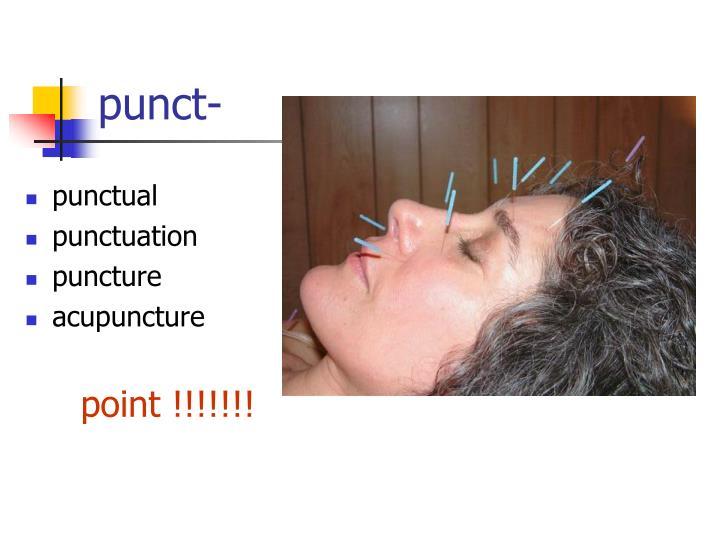 punct-
