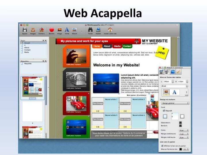 Web Acappella