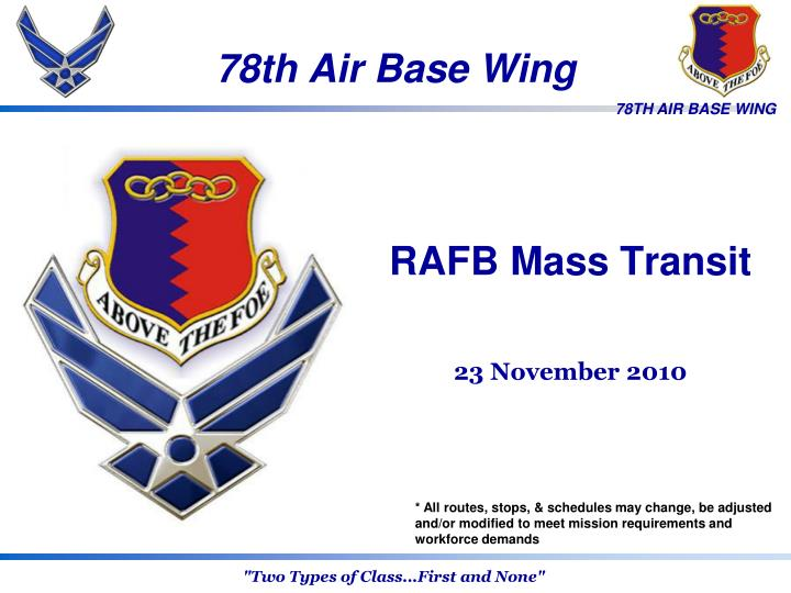 78th Air Base Wing