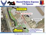 round robins express 110 spaces