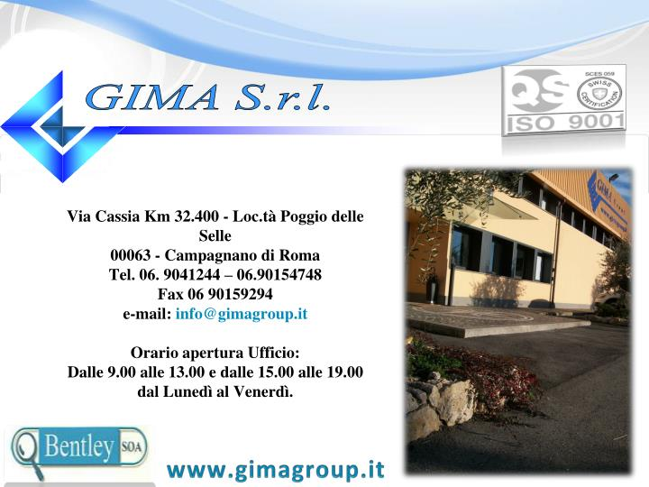 GIMA S.r.l.