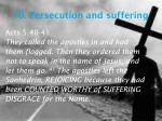 10 persecution and suffering