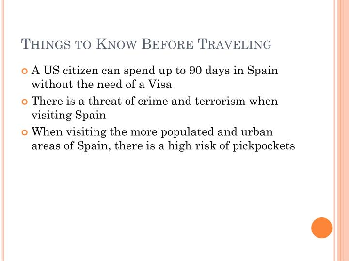 Things to Know Before Traveling