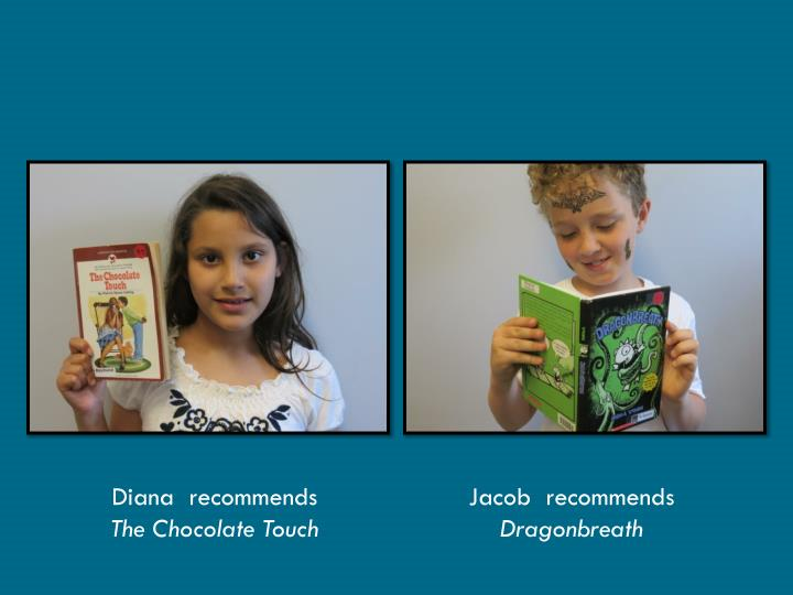 Diana  recommends