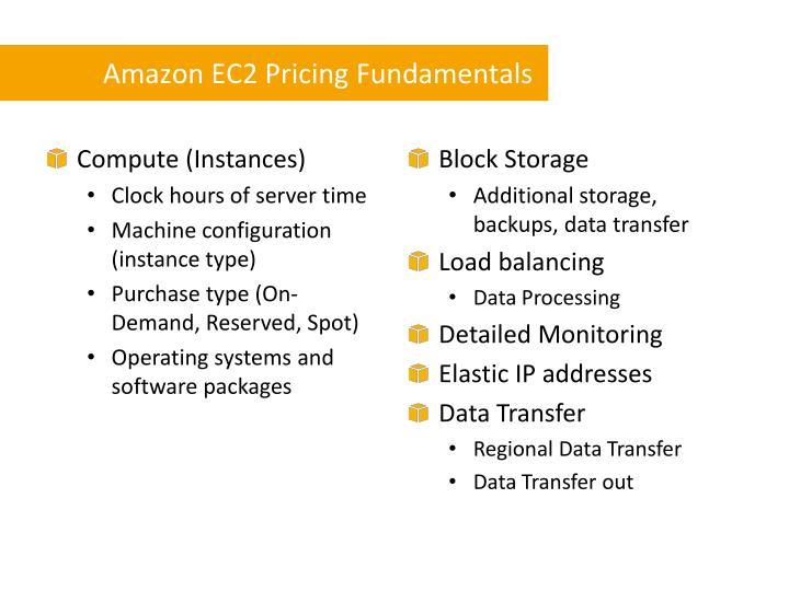 Amazon EC2 Pricing