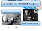 america benefits from skilled immigrants