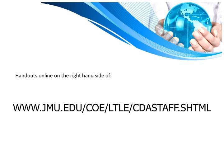 www.jmu.edu/coe/ltle/cdastaff.shtml