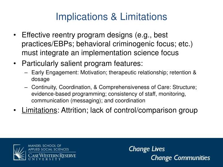 Implications & Limitations