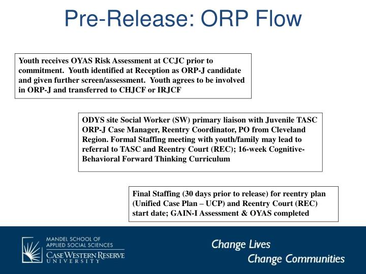 Pre-Release: ORP Flow