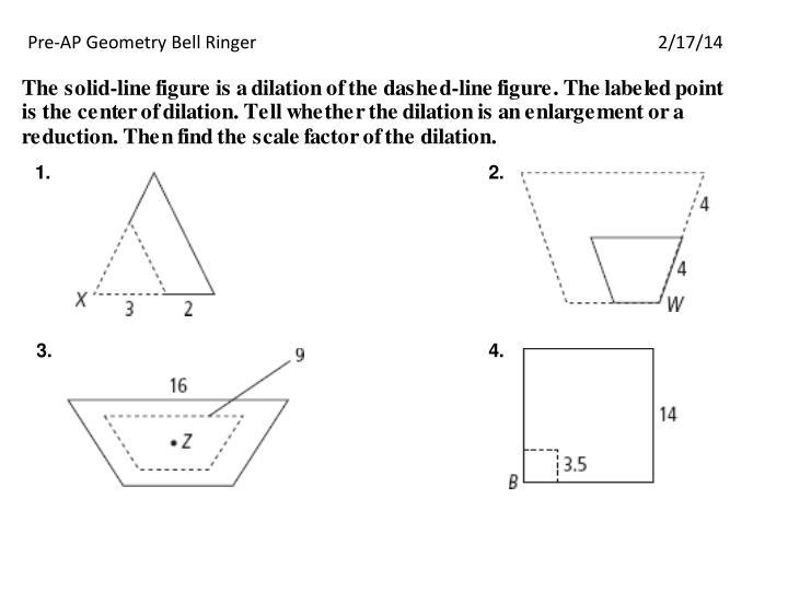 Pre-AP Geometry Bell Ringer2/17/14