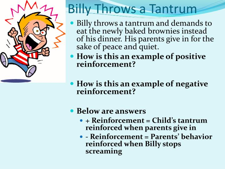 Billy Throws a Tantrum