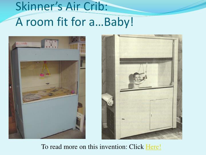 Skinner's Air Crib:
