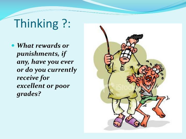 Thinking ?: