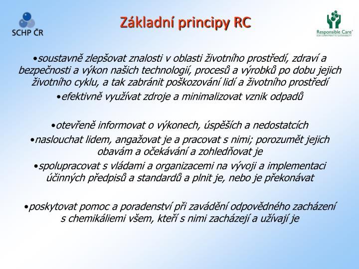 Základní principy RC