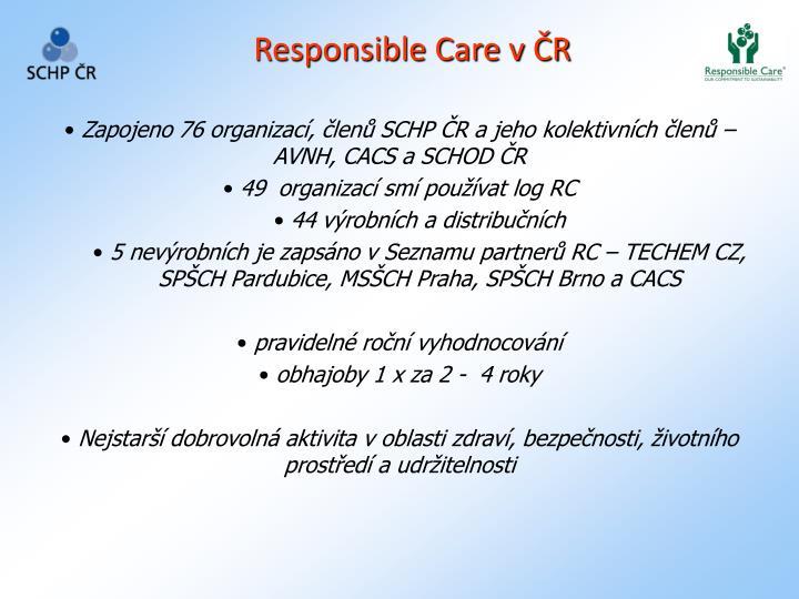 Responsible Care v ČR