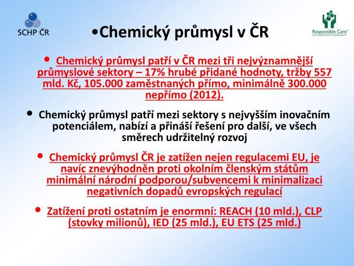 Chemický pr