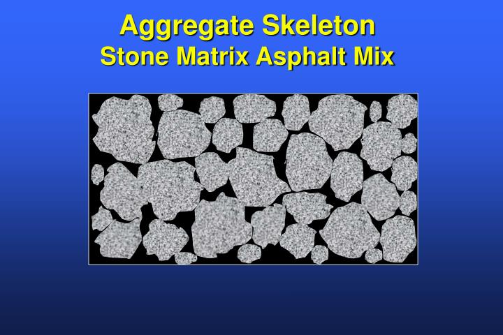 Aggregate Skeleton