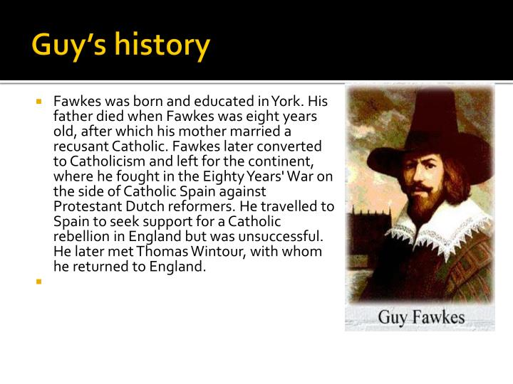 Guy's history