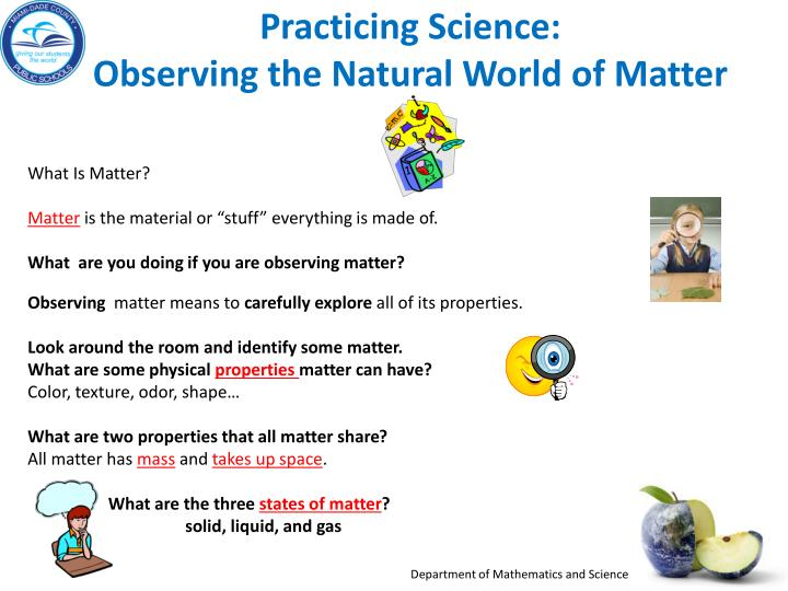 Practicing Science: