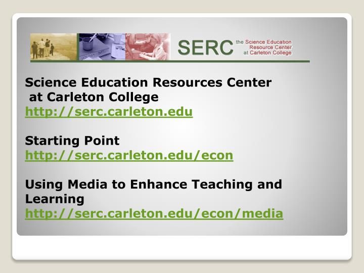 Science Education Resources Center
