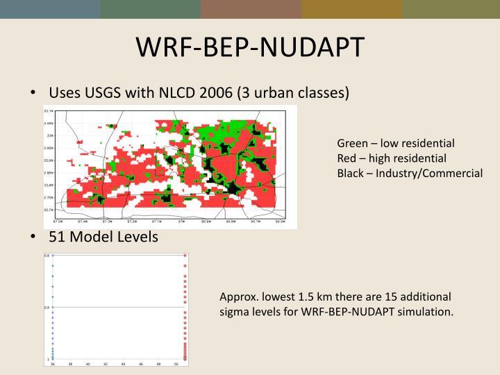 WRF-BEP-NUDAPT