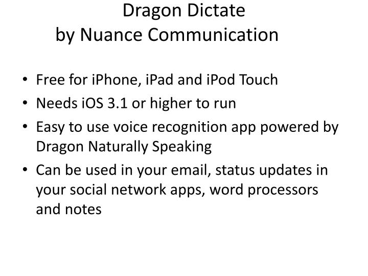 Use Dragon Naturally Speaking In Word