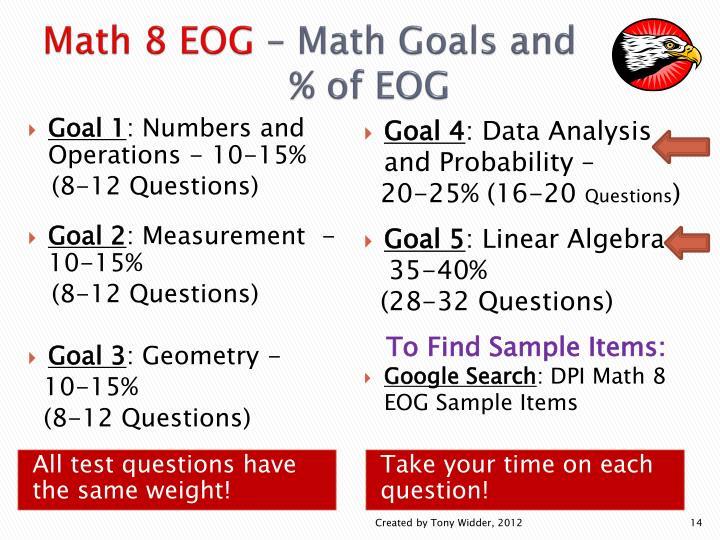 Math 8 EOG
