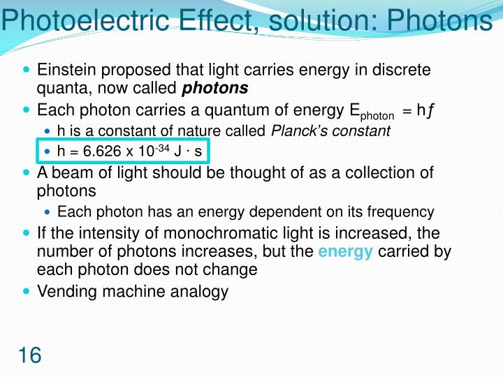 Photoelectric Effect,