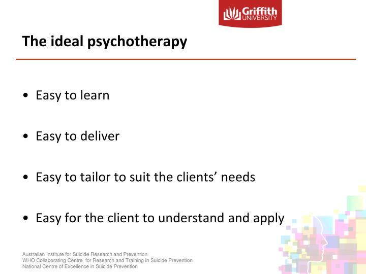 The ideal psychotherapy