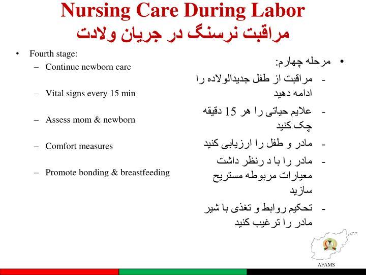 Nursing Care During Labor