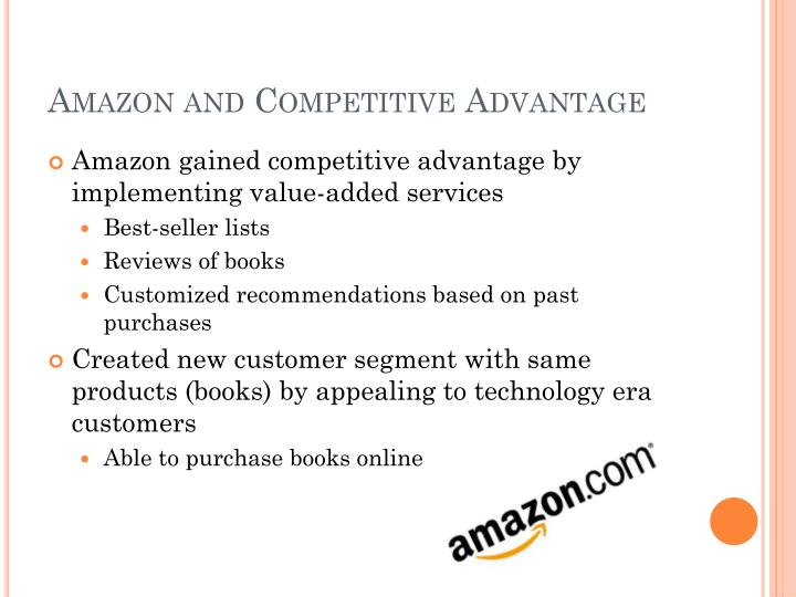 Amazon and Competitive Advantage