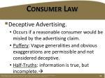 consumer law1