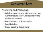 consumer law6