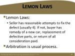 lemon laws1