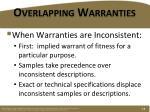 overlapping warranties1
