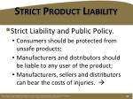 strict product liability1