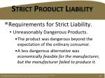 strict product liability5