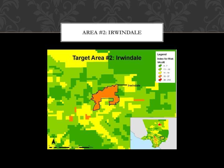Area #2: