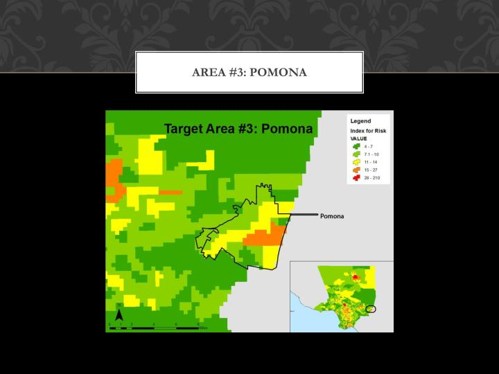 Area #3: Pomona