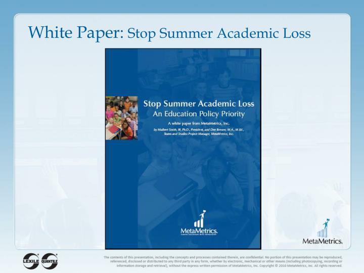 White Paper: