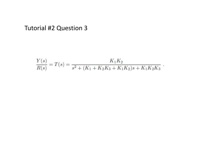 Tutorial #2 Question 3