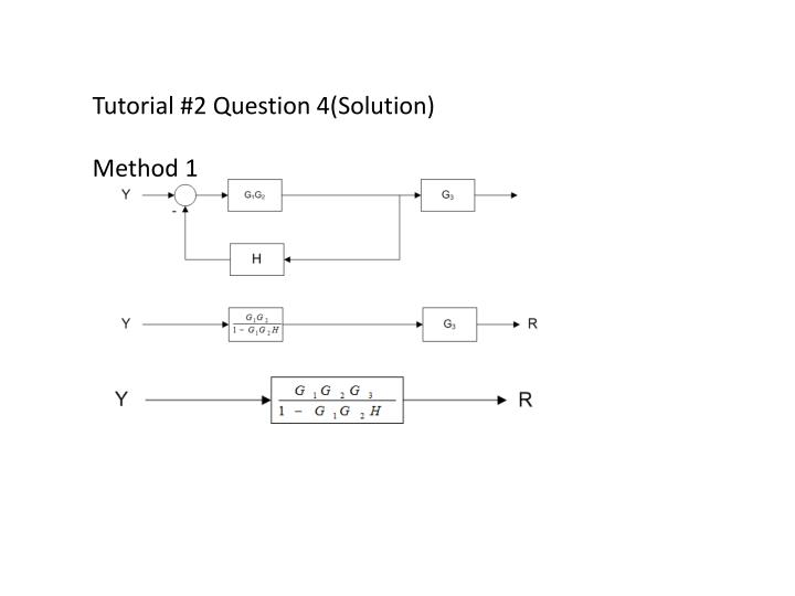 Tutorial #2 Question 4(Solution)