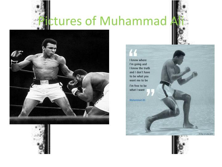Pictures of Muhammad Ali