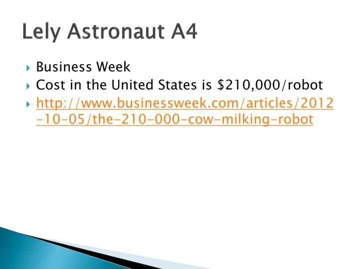 Lely Astronaut A4