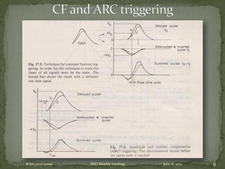 CF and ARC triggering