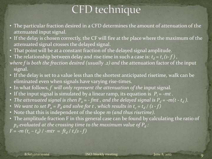 CFD technique