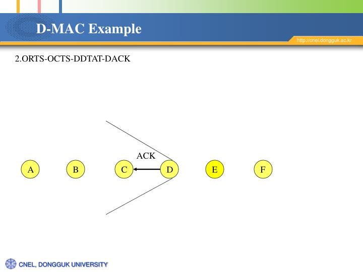 D-MAC Example