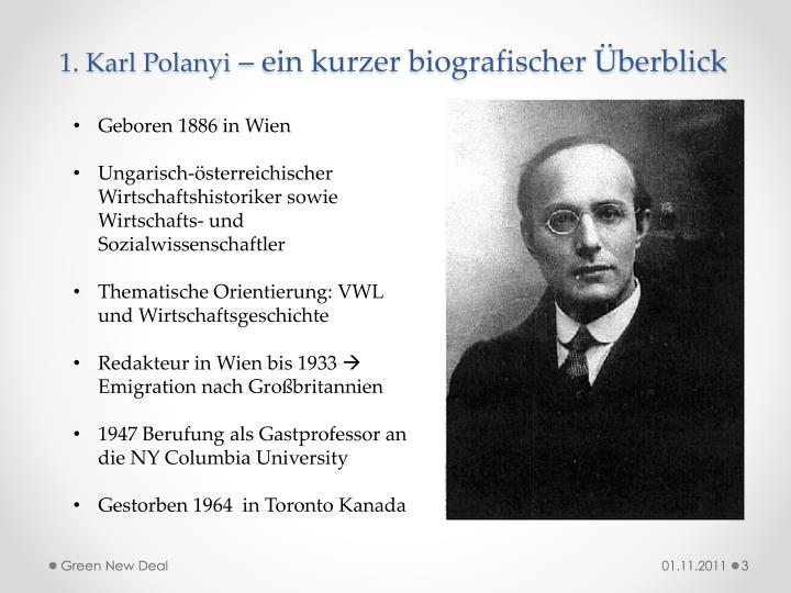 1. Karl Polanyi